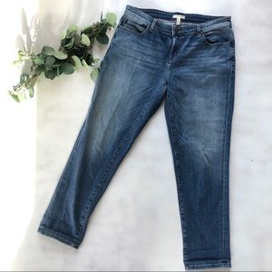 Eileen Fisher straight leg organic cotton jeans 10